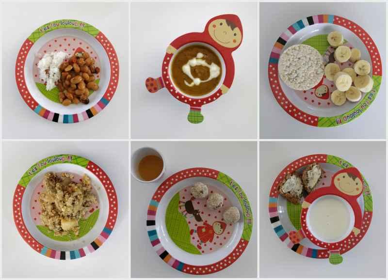 Jadłospis dla rocznego dziecka (wiosenny, wegetariański)