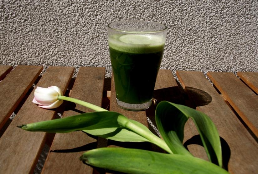 Pomysły na wiosenne, zielone soki