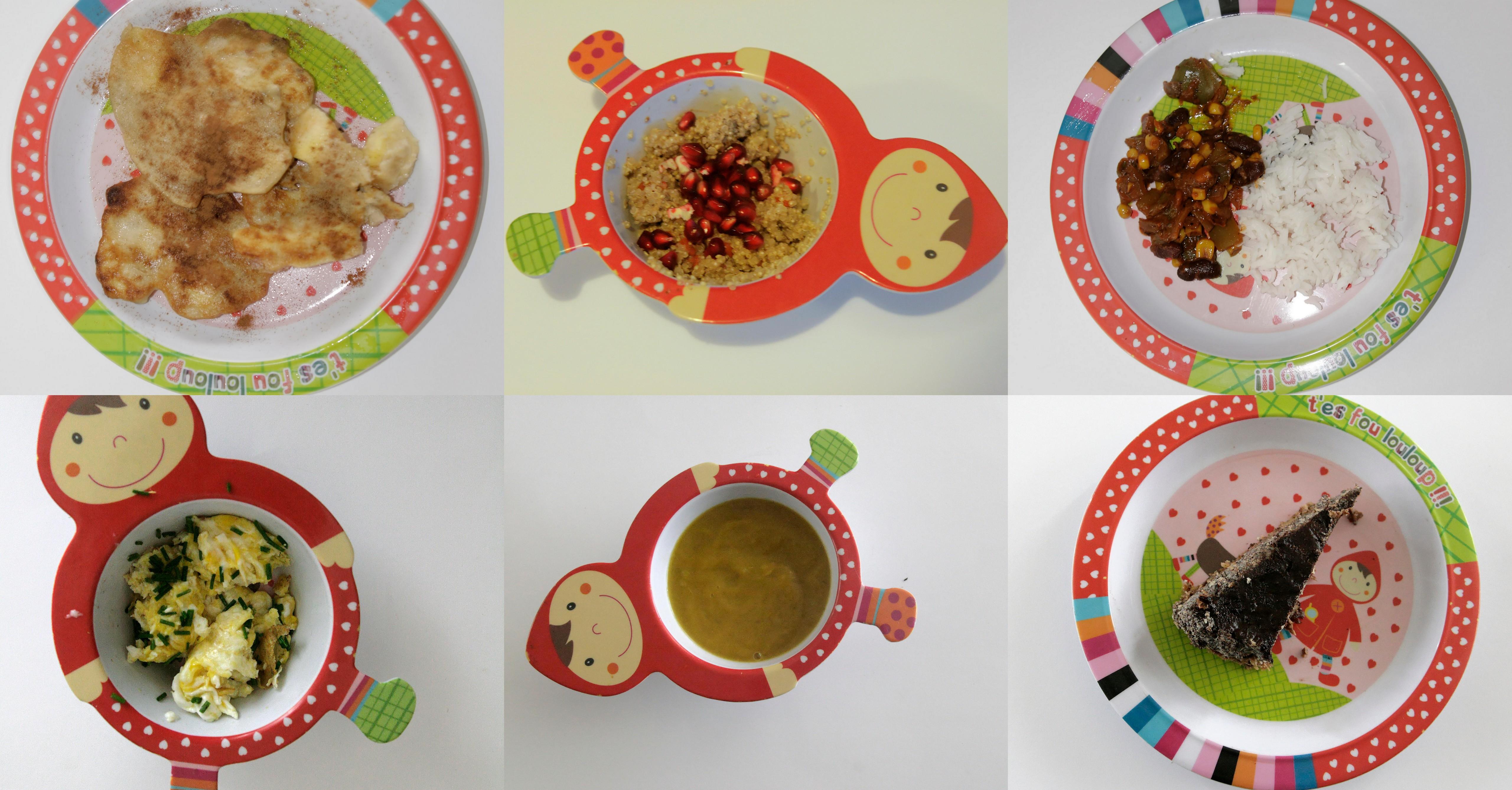 Jadłospis dla 1,5 rocznego dziecka (wegetariański, jesienny)