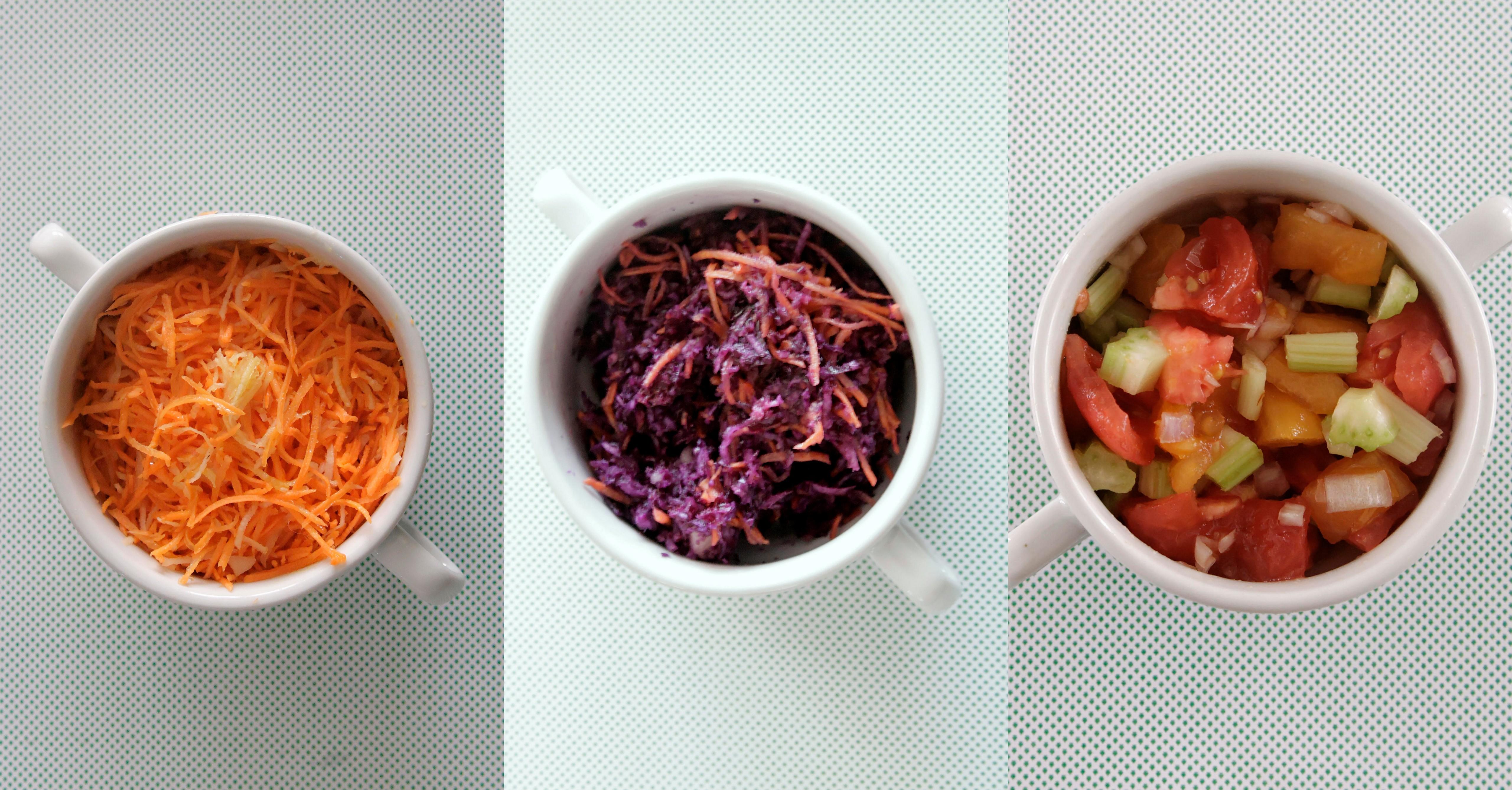 Kilka pomysłów na szybkie sałatki i surówki obiadowe