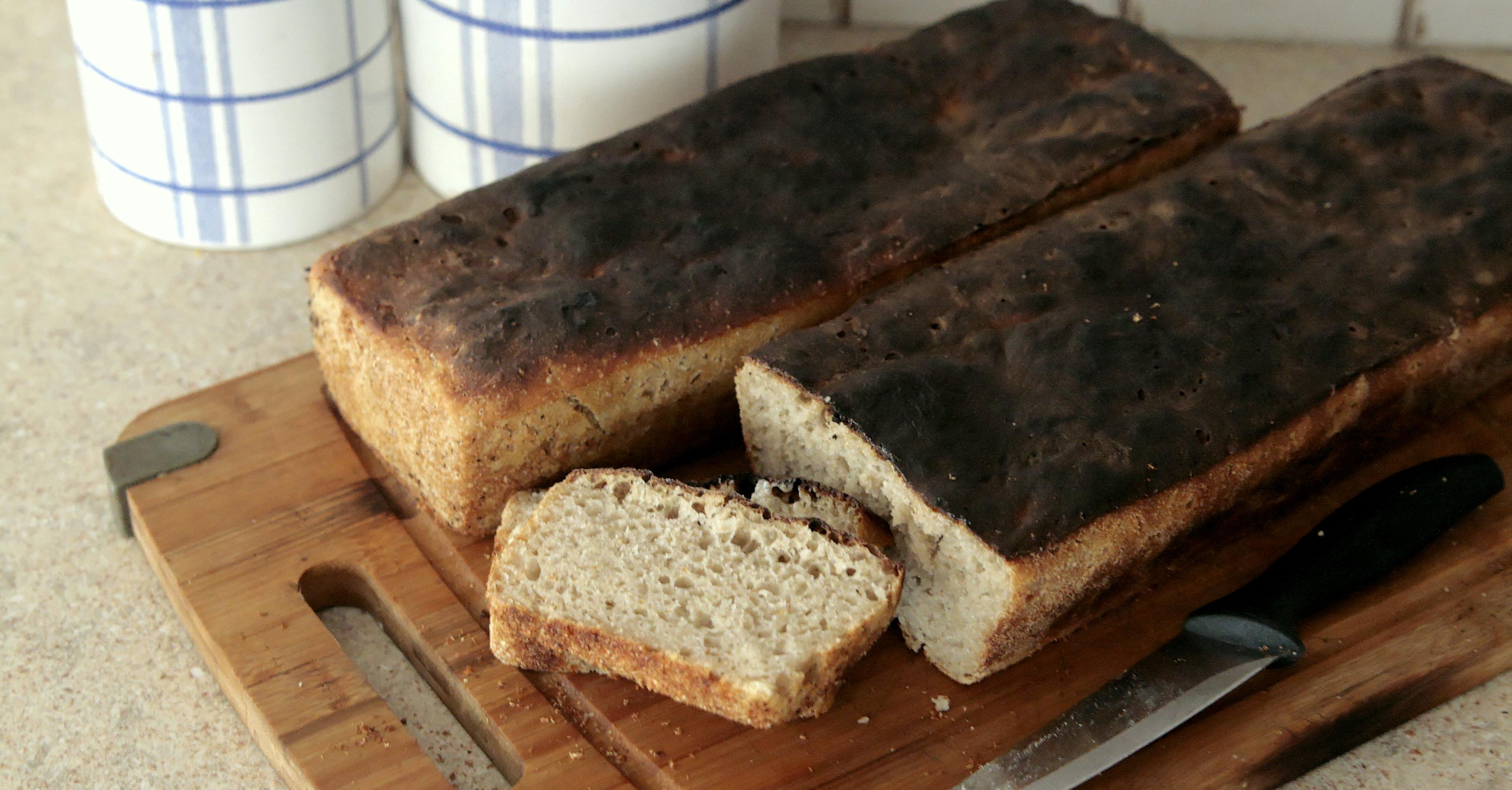 Orkiszowo-żytni chleb na zakwasie