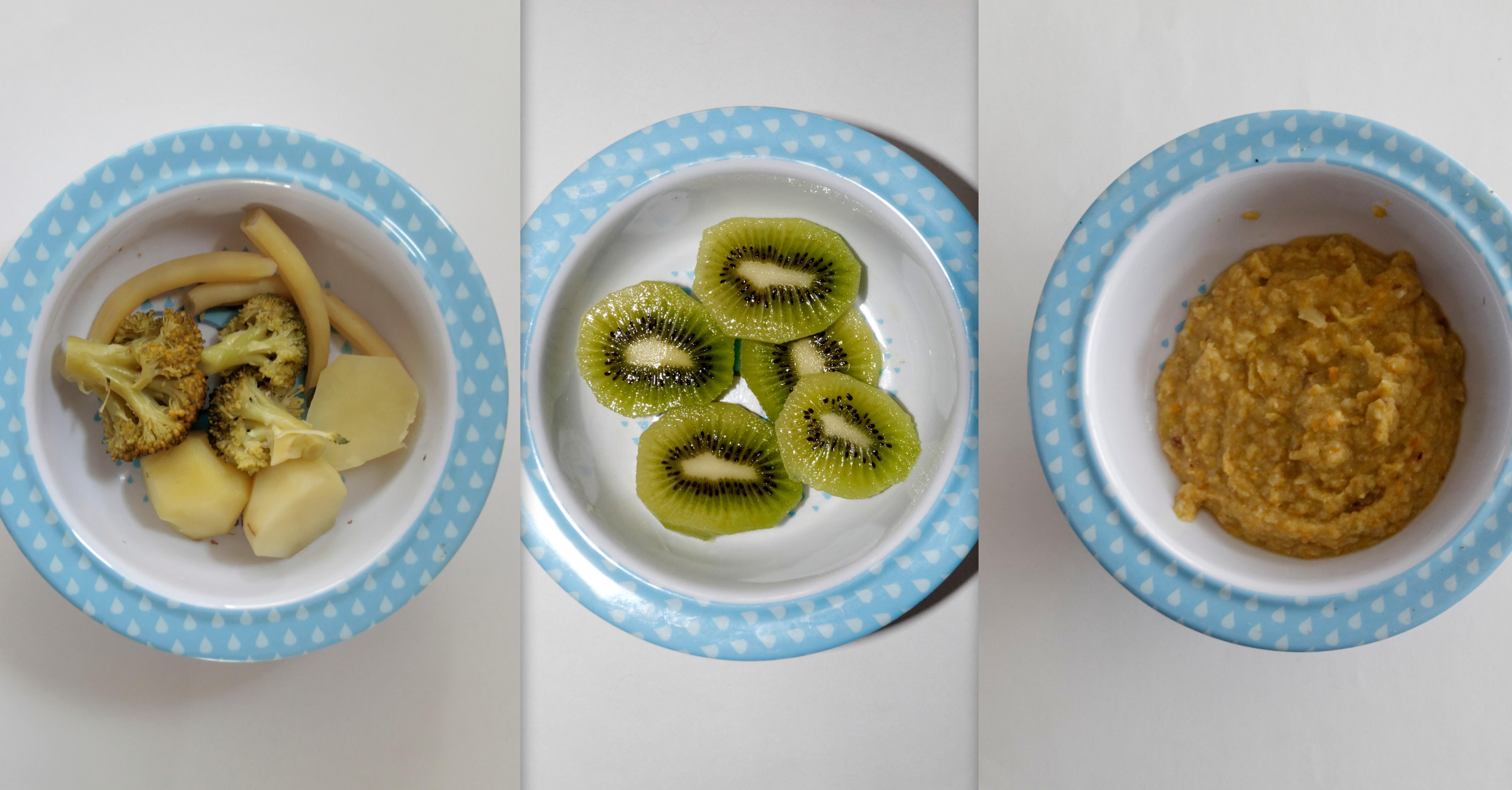 Jadłospis dla 8 miesięcznego dziecka (wegetariański, jesienny)