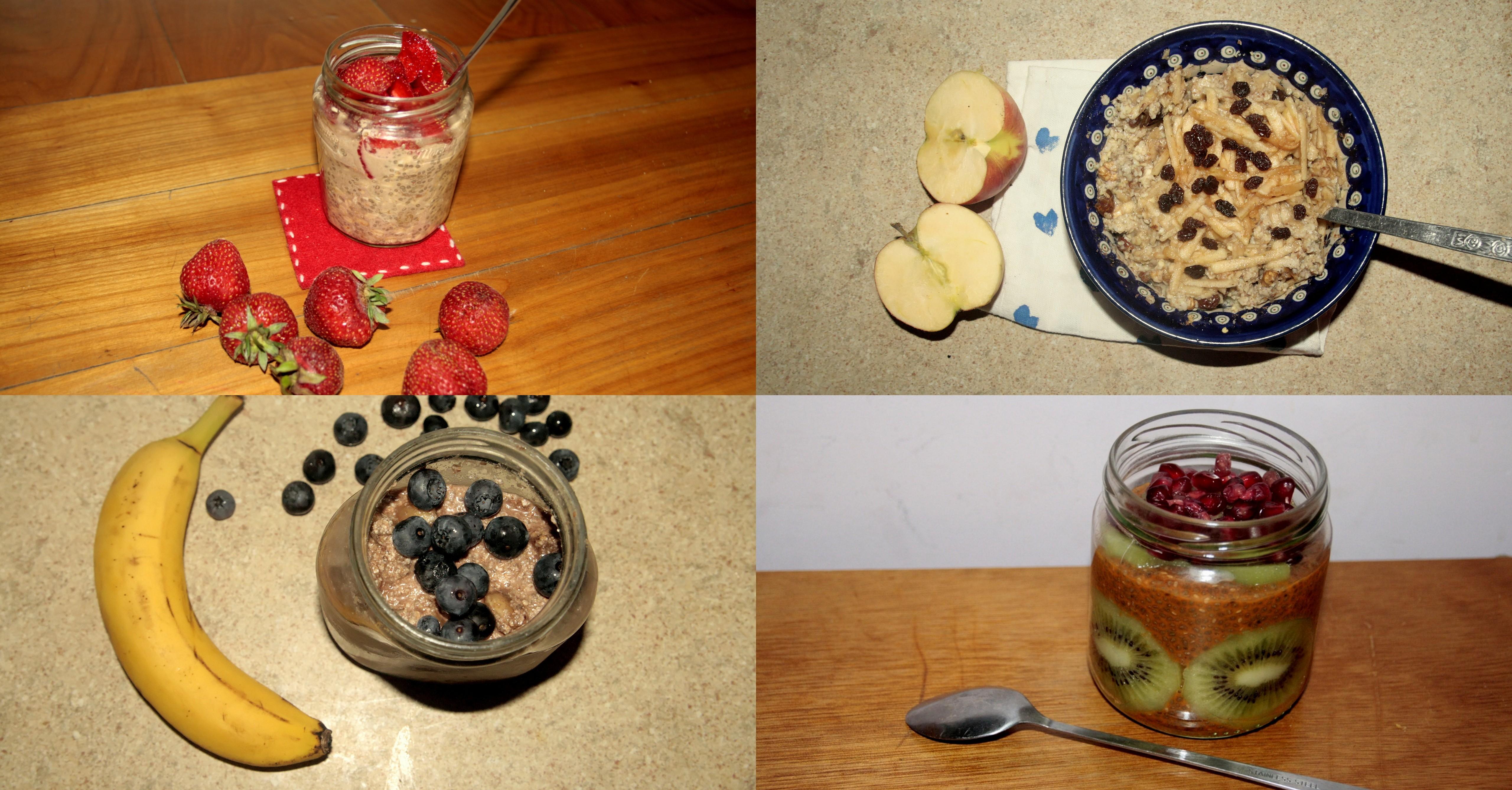 5 przepisów na szybkie śniadania