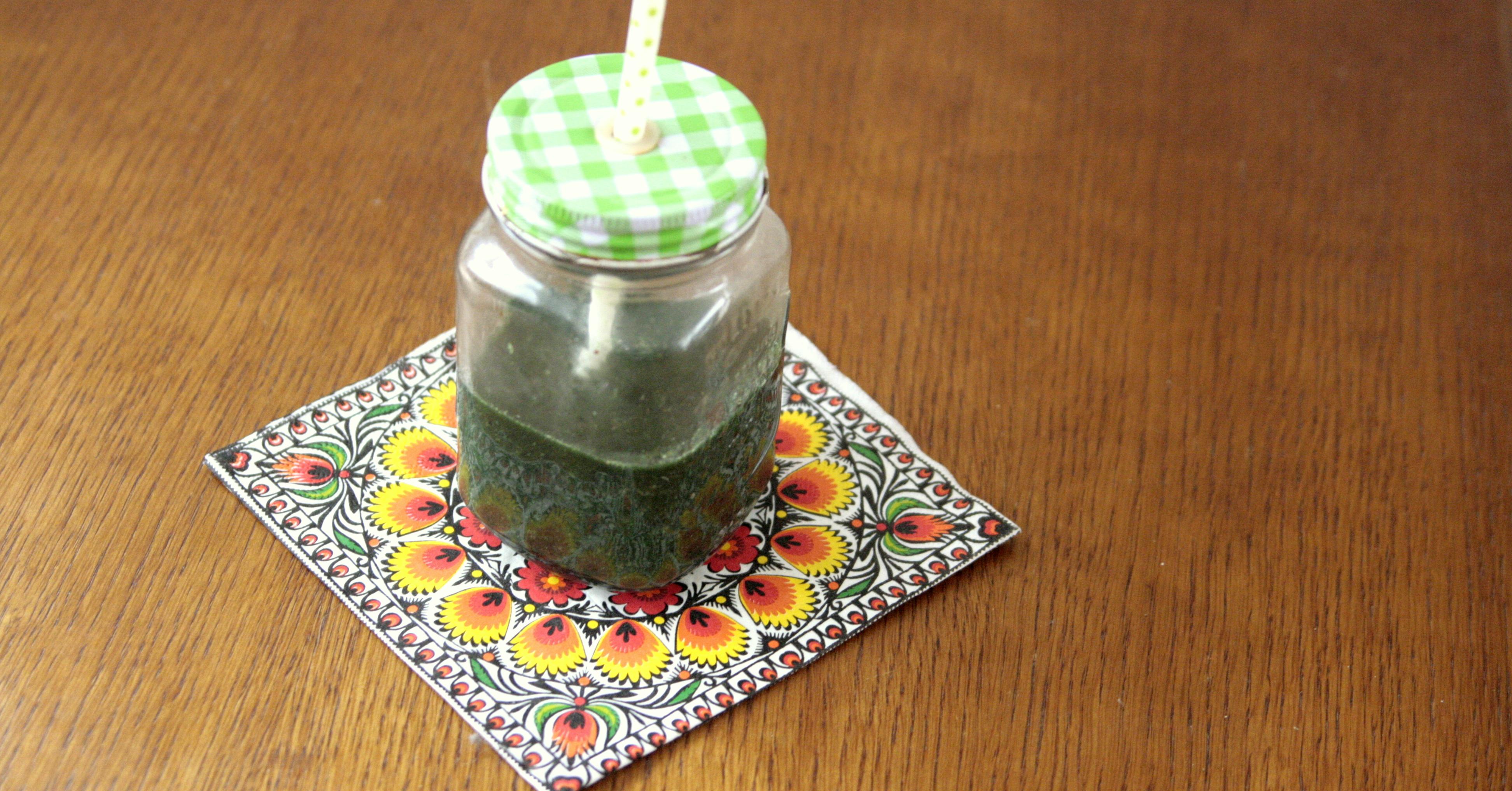 Miksujemy zielone: Zielony koktajl poprawiający trawienie