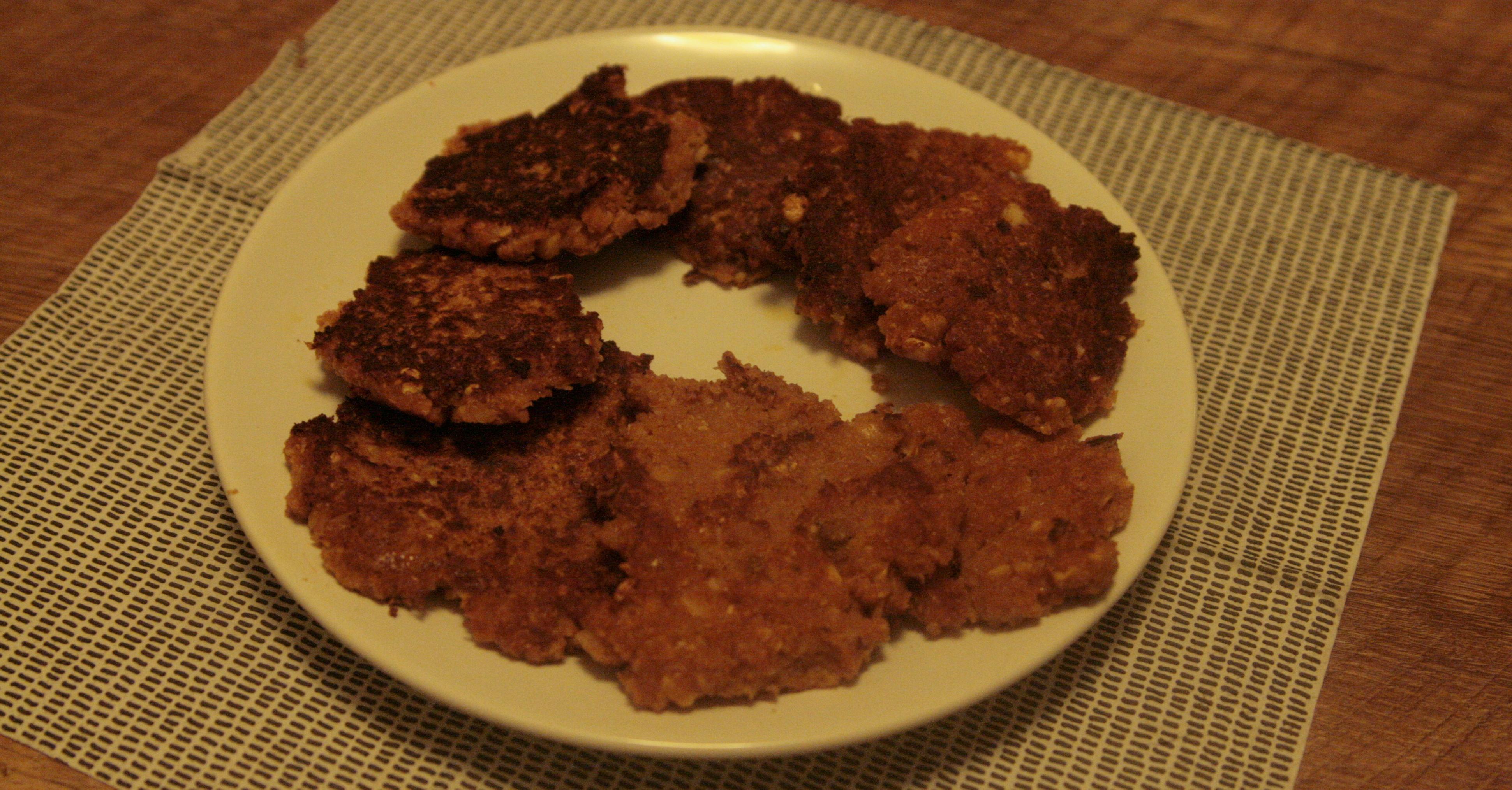 Trzyskładnikowe, pomidorowe placki z ciecierzycy. BLW