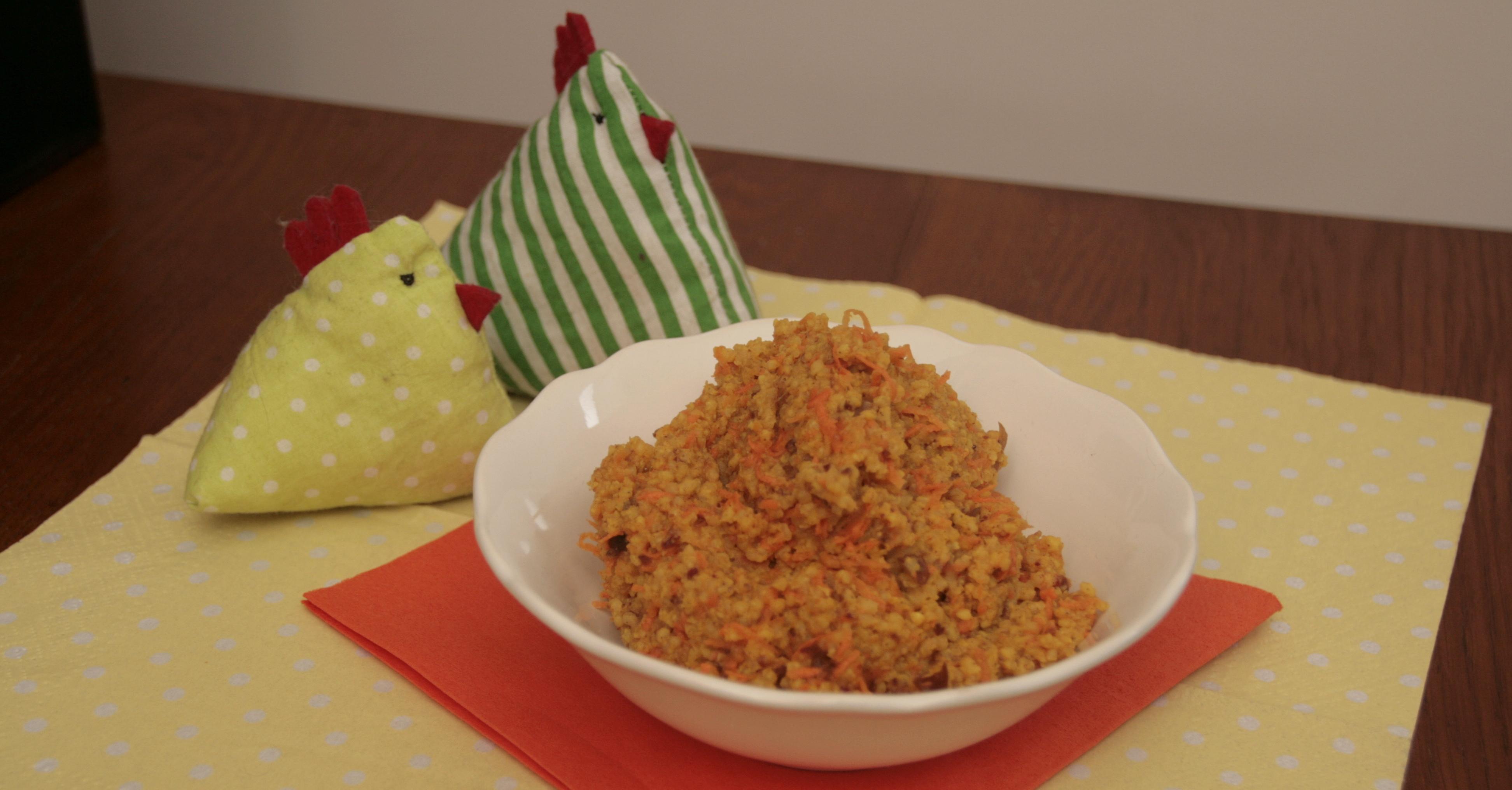 Kurkumowo-marchewkowa jaglanka