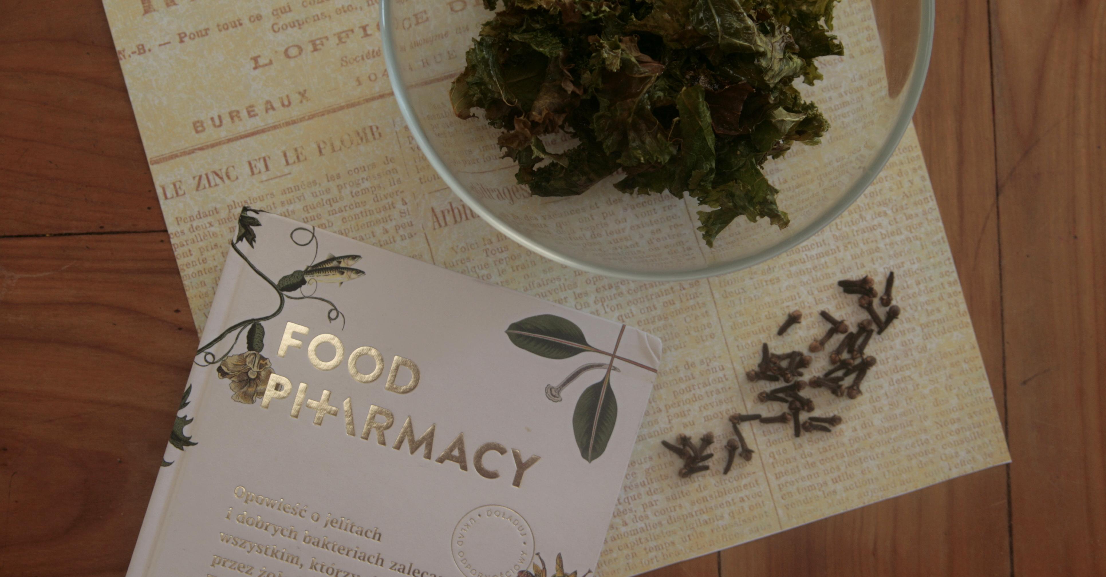 """Jak poprawić swoją odporność? (o książce """"Food Pharmacy"""" Liny Nerthby Aurell oraz Mii Clase)"""
