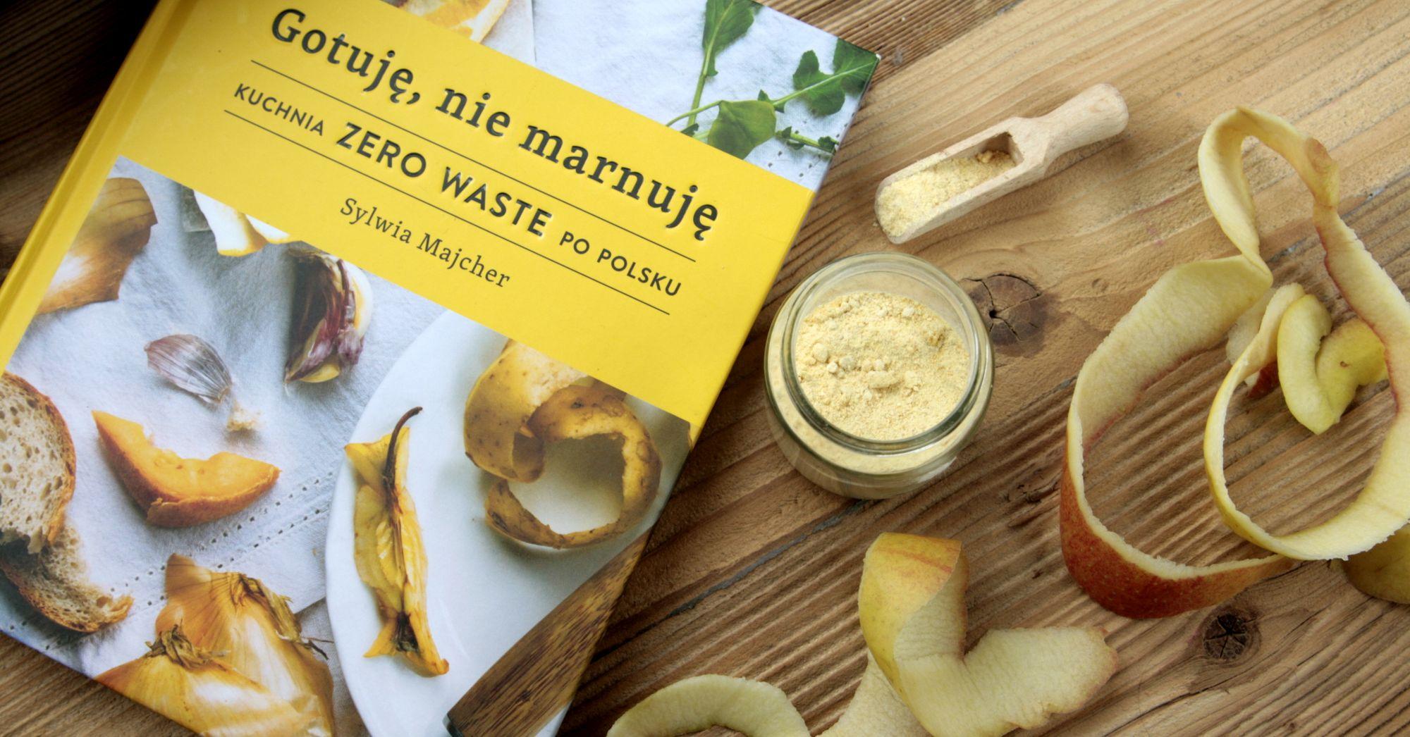 """Jak gotować, by nie marnować – o książce Sylwii Majcher """"Gotuję, nie marnuję"""""""