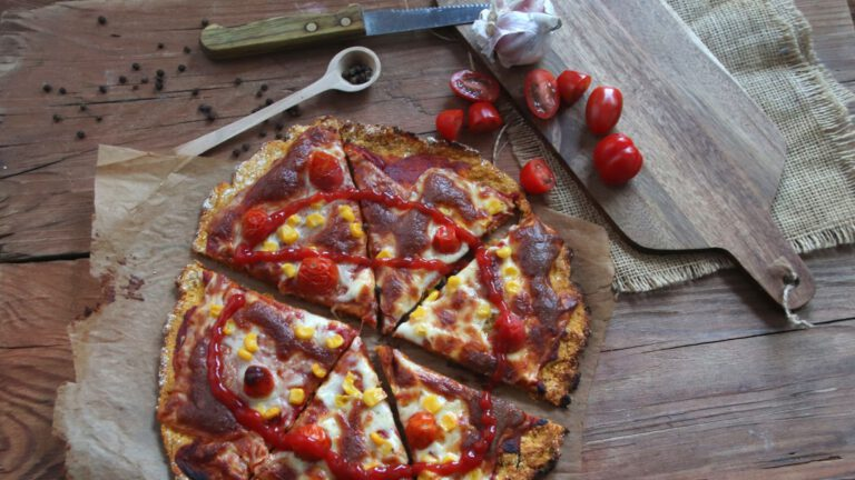 Dwuskładnikowa pizza z batata